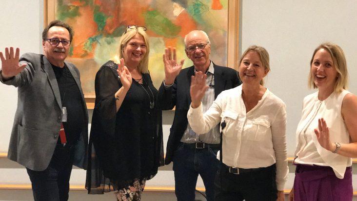 De fem svenska S-ledamöterna i Europaparlamentet