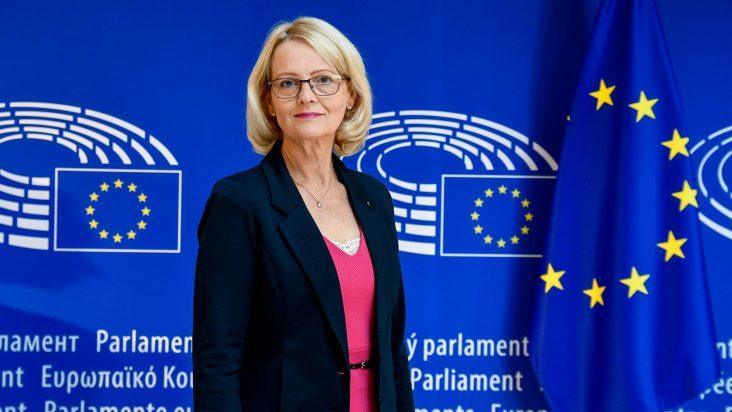 Heléne Fritzon i Europaparlamentet